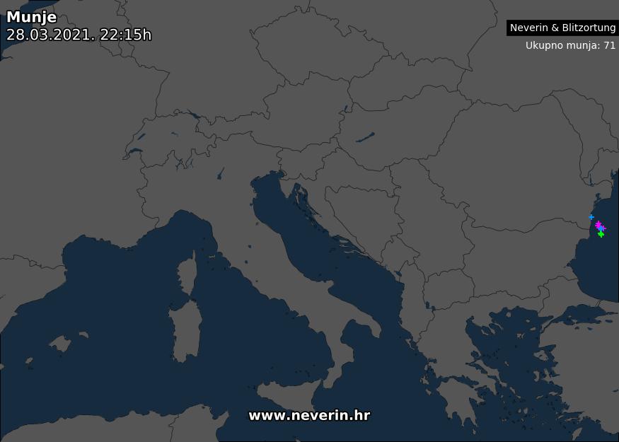 Radar munja Europa