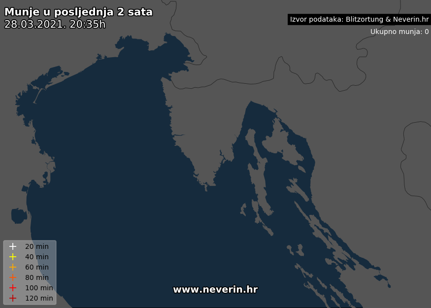 Radar munja Istra Kvarner