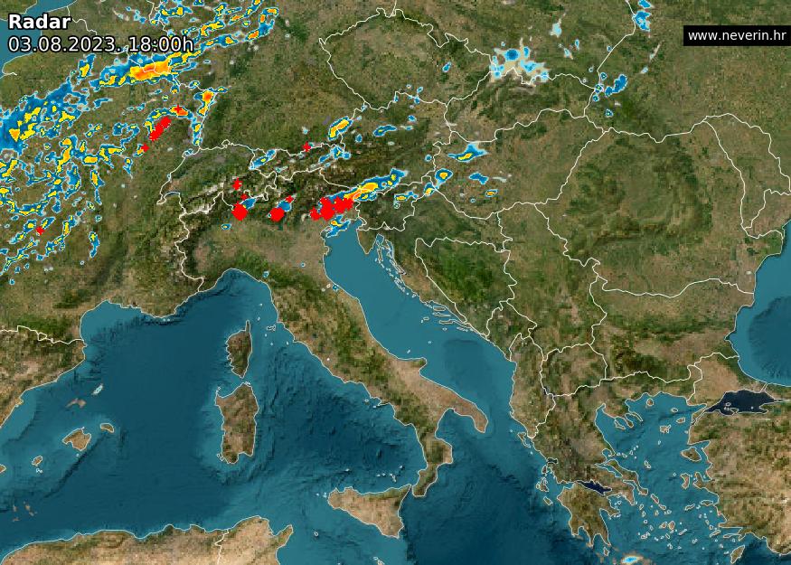 Meteo radar Europa