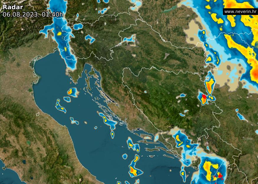 Meteo radar Hrvatska